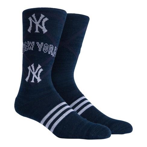 MLB New York Yankees Stacked Premium Crew Socks - image 1 of 2