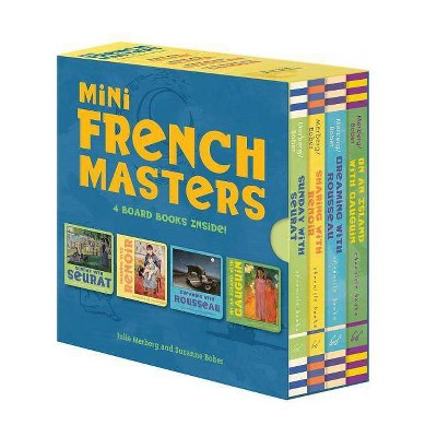 Mini French Masters Boxed Set - by  Julie Merberg & Suzanne Bober (Hardcover)