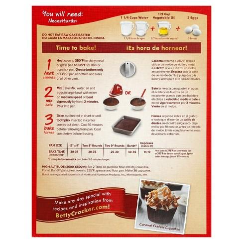 Betty Crocker SuperMoist German Chocolate Cake Mix