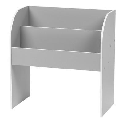 IRIS Kids' Wooden Bookshelf Gray