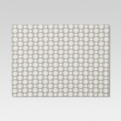 19 x14  Diamond Placemat Gray - Threshold™