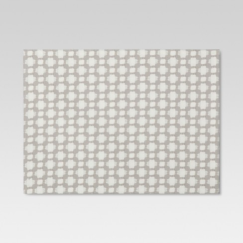 Gray Diamond Placemat - Threshold™ - image 1 of 1