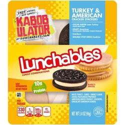 Oscar Mayer Lunchables Turkey & American Cracker Stackers - 3.4oz