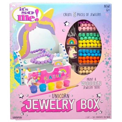 Unicorn Jewelry Box Craft Kit - It's So Me