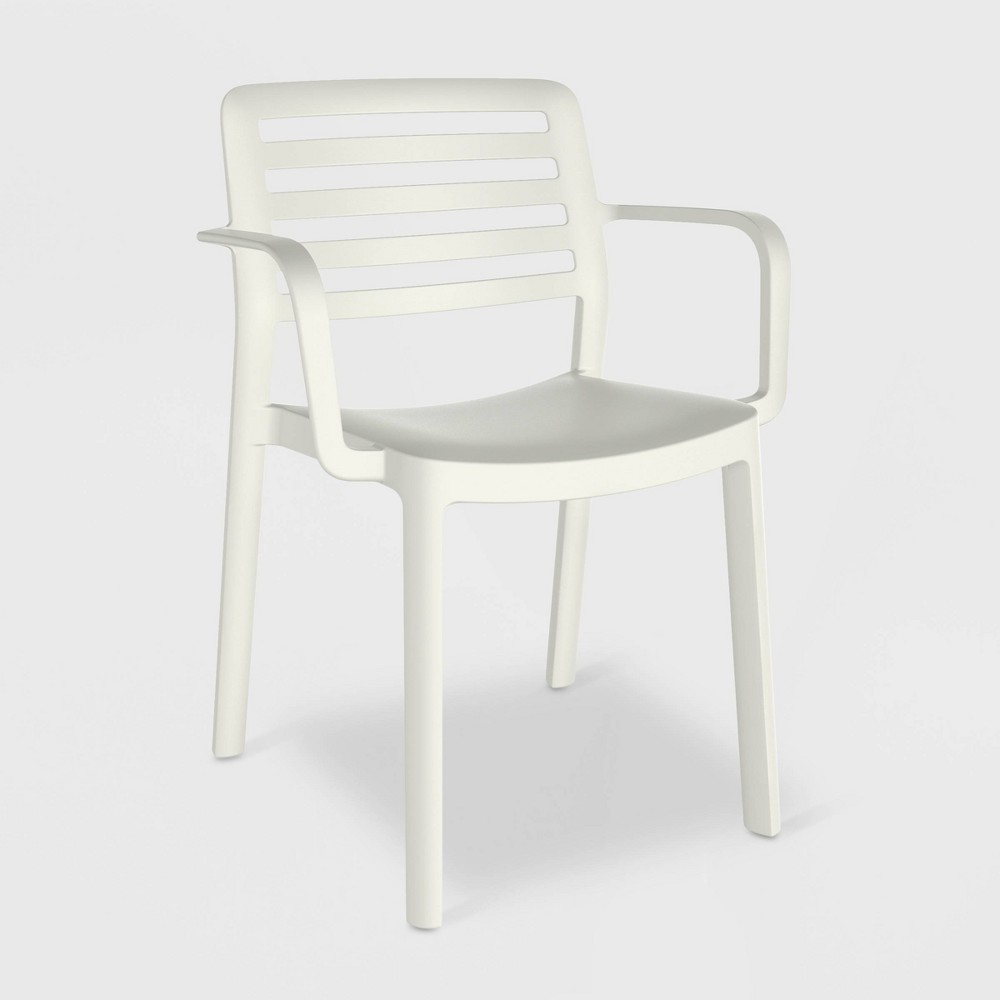 Wind 2pk Patio Armchair - White - Resol