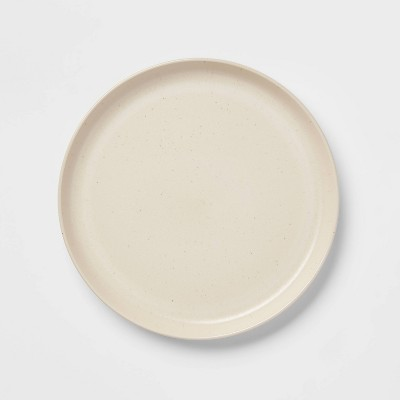 "10.6"" Stoneware Tilley Dinner Plate White - Project 62™"