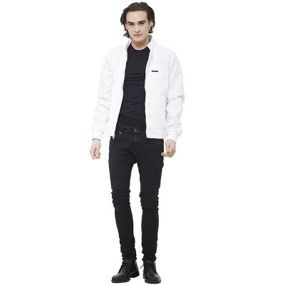 Members Only Men's Classic Iconic Racer Jacket
