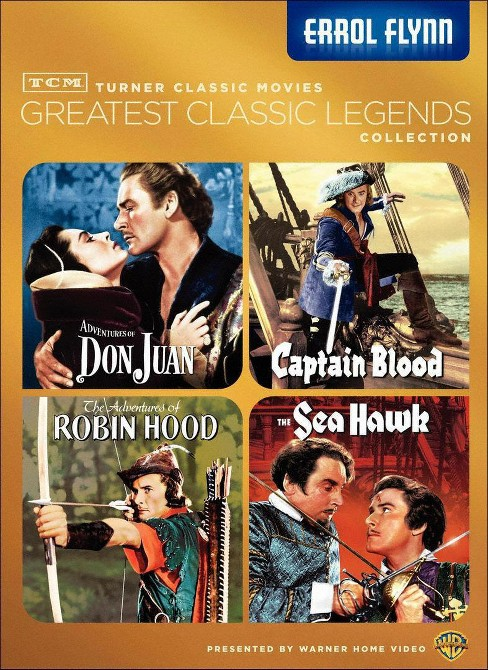 Tcm greatest films:Errol flynn (DVD) - image 1 of 1