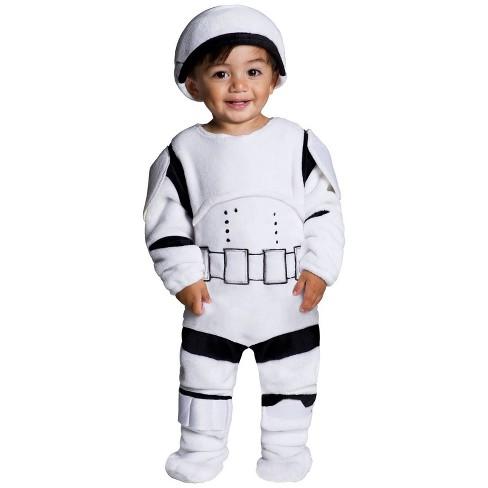 Toddler Star Wars Stormtrooper Plush Halloween Costume 3T-4T - image 1 of 1