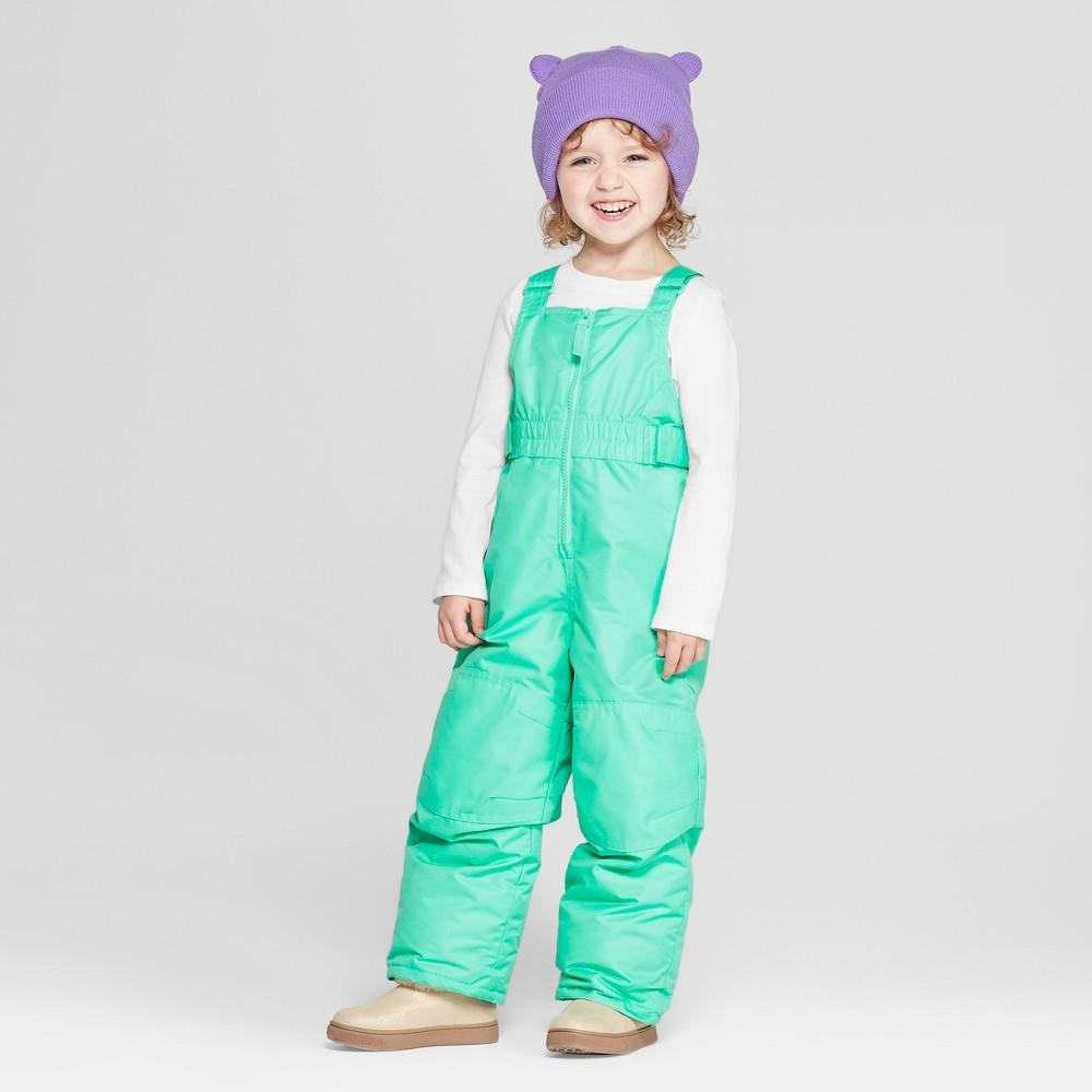 Toddler Girls' Snow Pants - Cat & Jack Green 2T