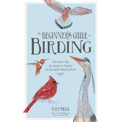 The Beginner's Guide to Birding - by  Nate Swick (Paperback) - image 1 of 1