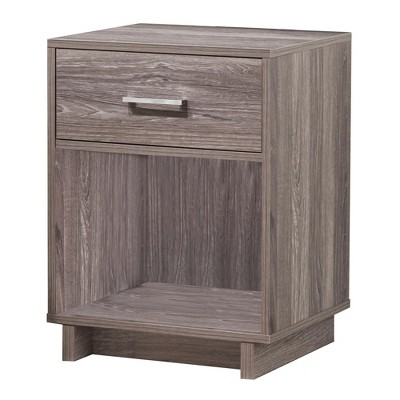 Richfield Nightstand - Rustic Medium Oak - Room & Joy