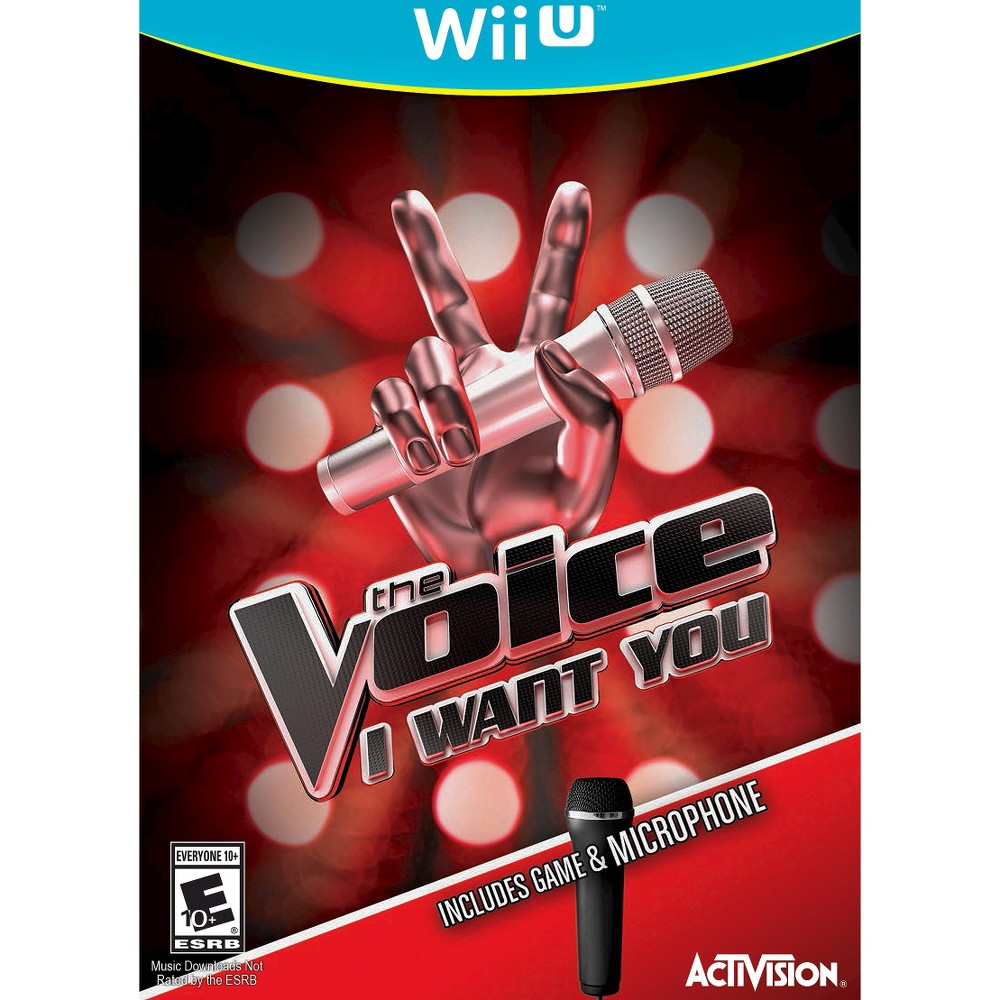 The Voice Nintendo Wii U, video games
