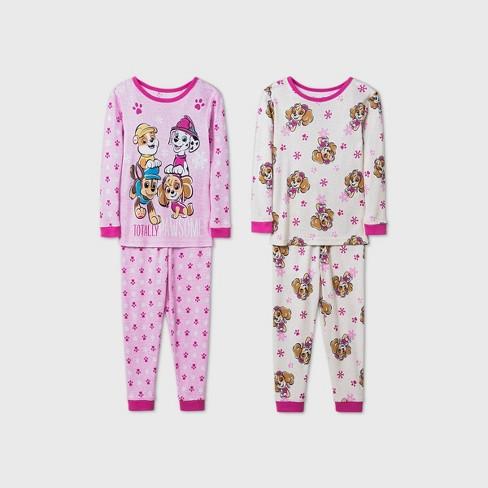 Toddler Girls' 4pc PAW Patrol Pajama Set - Pink - image 1 of 1