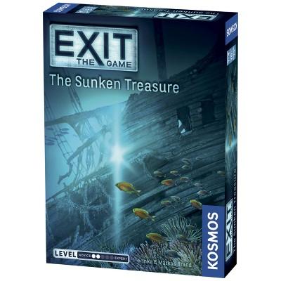 EXIT: The Sunken Treasure Card Game