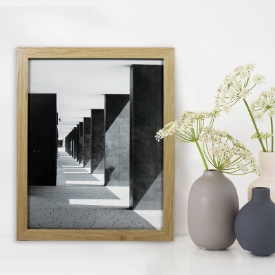 "8"" x 10"" Thin Grain Frame Wood - Made By Design™"