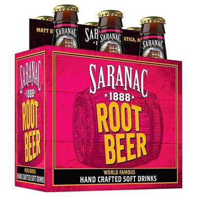 Saranac Root Beer - 6pk/12 fl oz Glass Bottles