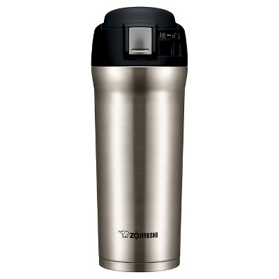 Zojirushi 16oz Stainless Steel Vacuum Insulated Travel Mug with SlickSteel® Interior - Silver