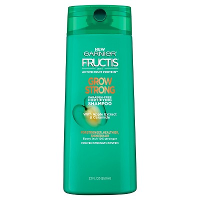 Shampoo & Conditioner: Garnier Fructis Grow Strong