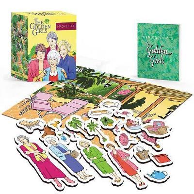 Golden Girls : Magnet Set -  (Miniature Editions) by Christine Kopaczewski (Paperback)