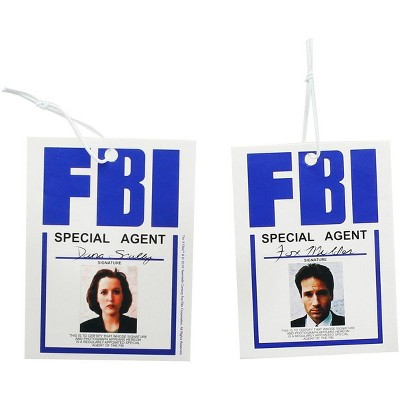 Nerd Block The X-Files Agent Scully & Mulder Air Freshener