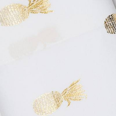 Gold Foil Pineapple