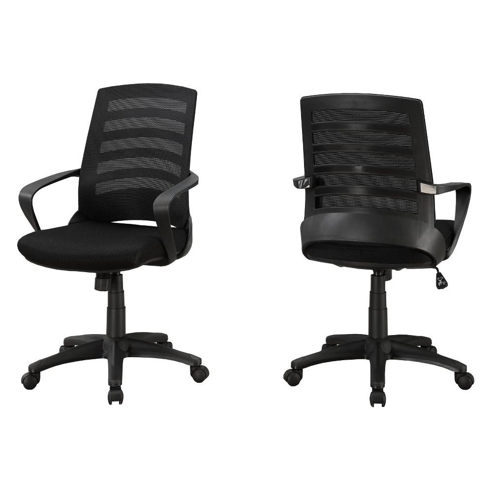 Office Chair Mesh Multi Position Black Everyroom