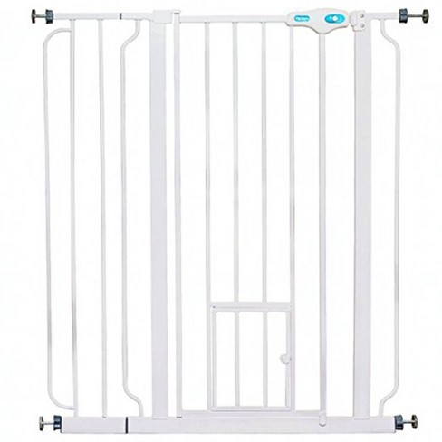 """Carlson Pet Products 36"""" Extra Tall Pet Gate with Lift Handle and Small Pet Door - image 1 of 4"""