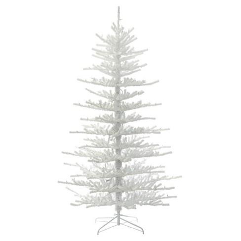 75ft unlit artificial christmas tree full flocked twig