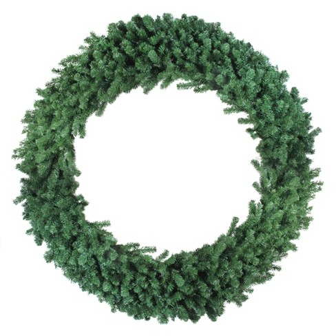 "Northlight 72"" Unlit Deluxe Windsor Pine Artificial Christmas Wreath - image 1 of 2"