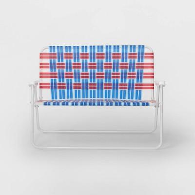 Web Strap Love Seat Americana - Sun Squad™