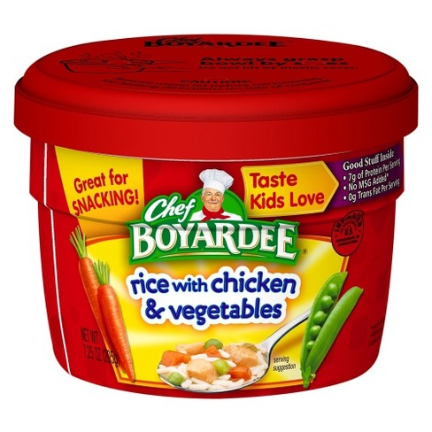Chef Boyardee Rice with Chicken & Vegetables Cup 7.25 oz - image 1 of 1