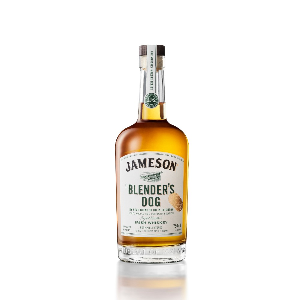 Jameson Blenders Dog Irish Whiskey - 750ml Bottle Jameson Blenders Dog Irish Whiskey - 750ml Bottle