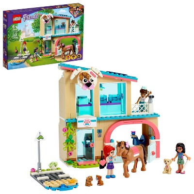 LEGO Friends Heartlake City Vet Clinic Building Toy 41446
