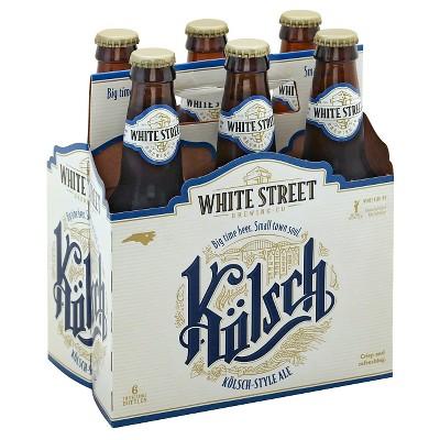White Street Kolsch Beer - 6pk/12 fl oz Bottles