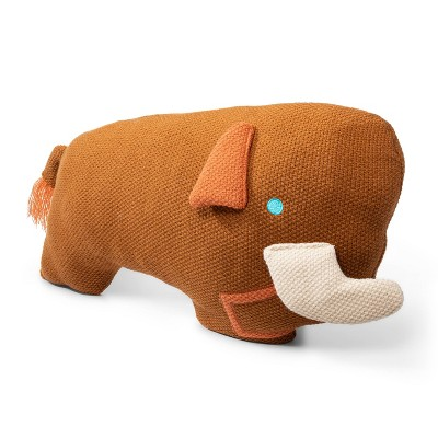 Woolly Mammoth Figural Pillow - Christian Robinson x Target