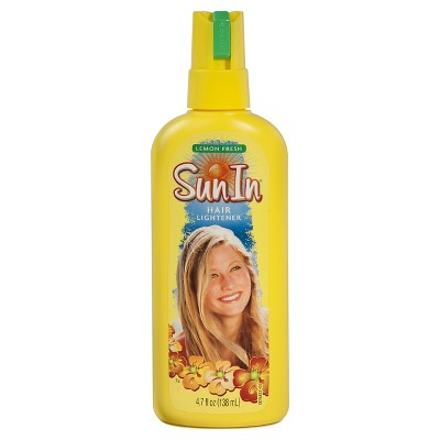 Hair Styling: Sun-In Hair Lightener