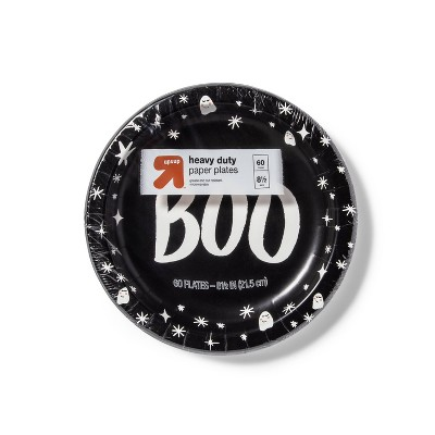 """Disposable Dinnerware Plate - Black & White - 60ct - 8.5"""" - up & up™"""