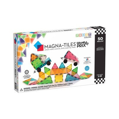 MAGNA-TILES Frost 50pc Grand Prix Set