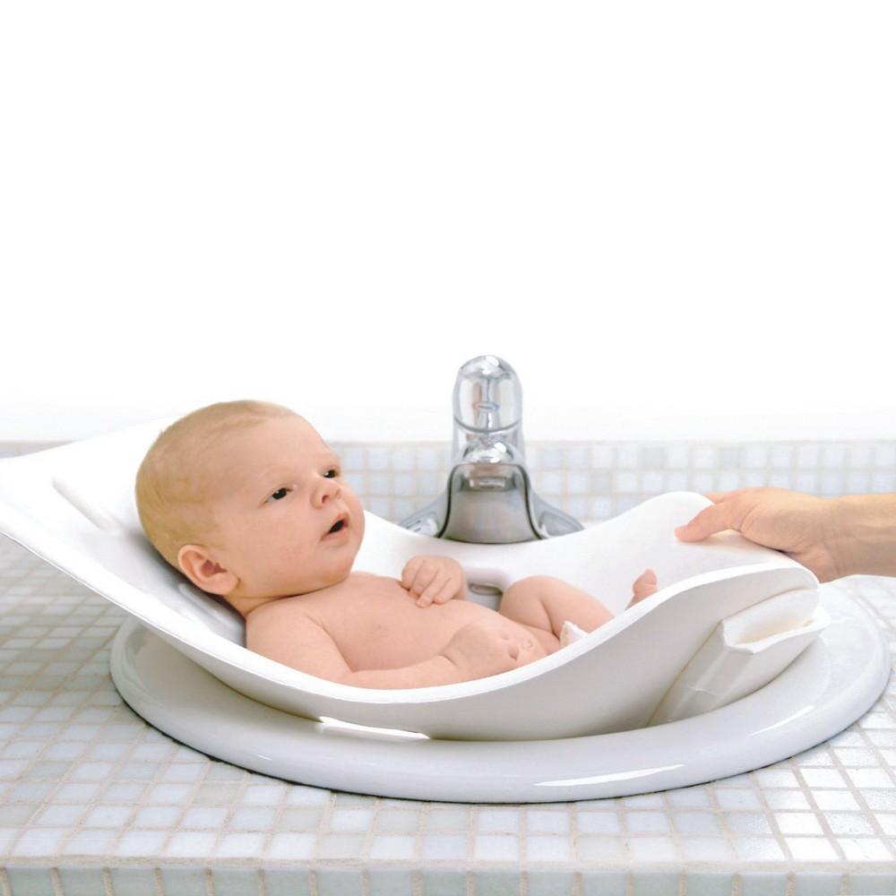 Image of Puj Soft Infant Bath Tub - White
