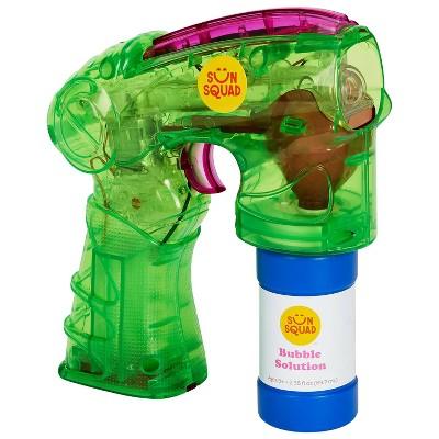 Light-Up Bubble Blaster Green - Sun Squad™