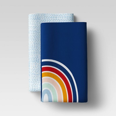 2pk Cotton Rainbow Print Kitchen Towel Set - Room Essentials™