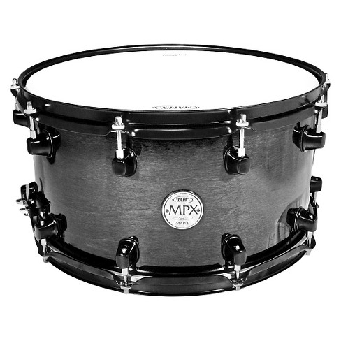 "Mapex MPX Series Maple Snare Drum 14"" x 8"" - Transparent Black Finish - image 1 of 1"