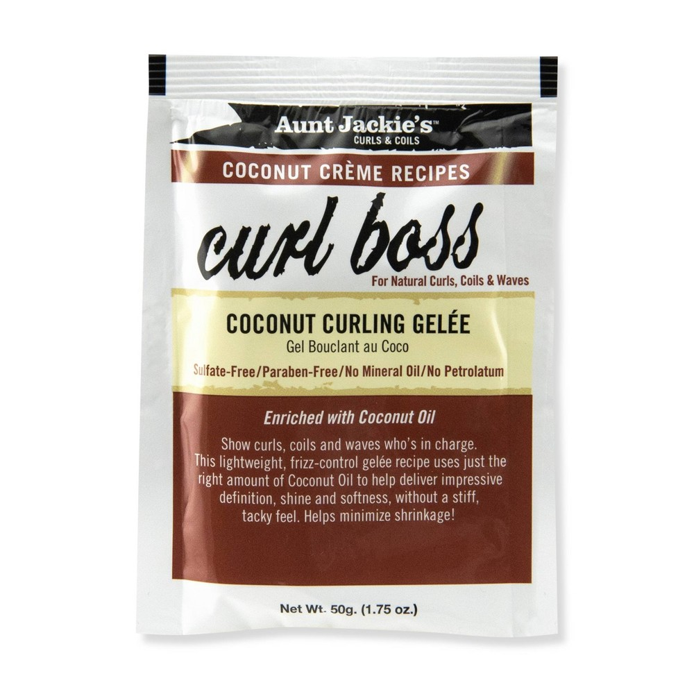 Aunt Jackie's Curl Boss Coconut Curling Gelèe - 1.75oz