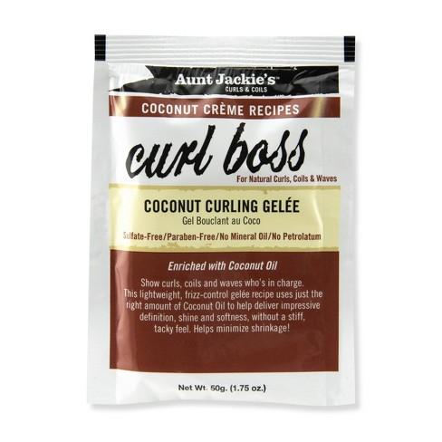 Aunt Jackie's Curl Boss Coconut Curling Gelèe - 1.75oz - image 1 of 1