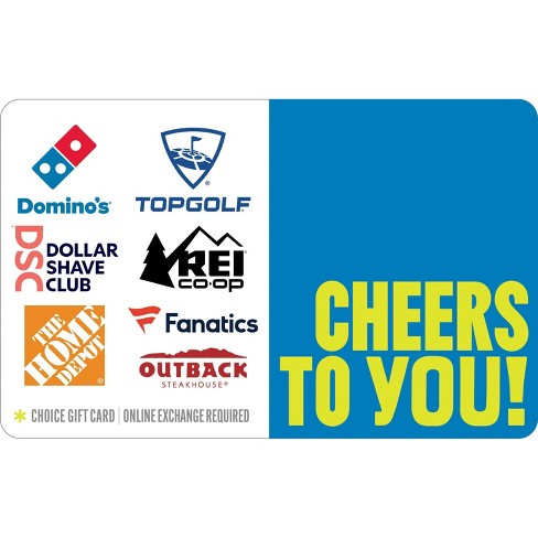 Cheers To You Gift Card (Email Delivery) - image 1 of 1