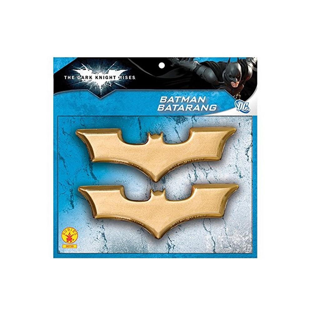 Image of Batman Boys' Batarangs Halloween Accessory - Rubie's, Boy's, Gold