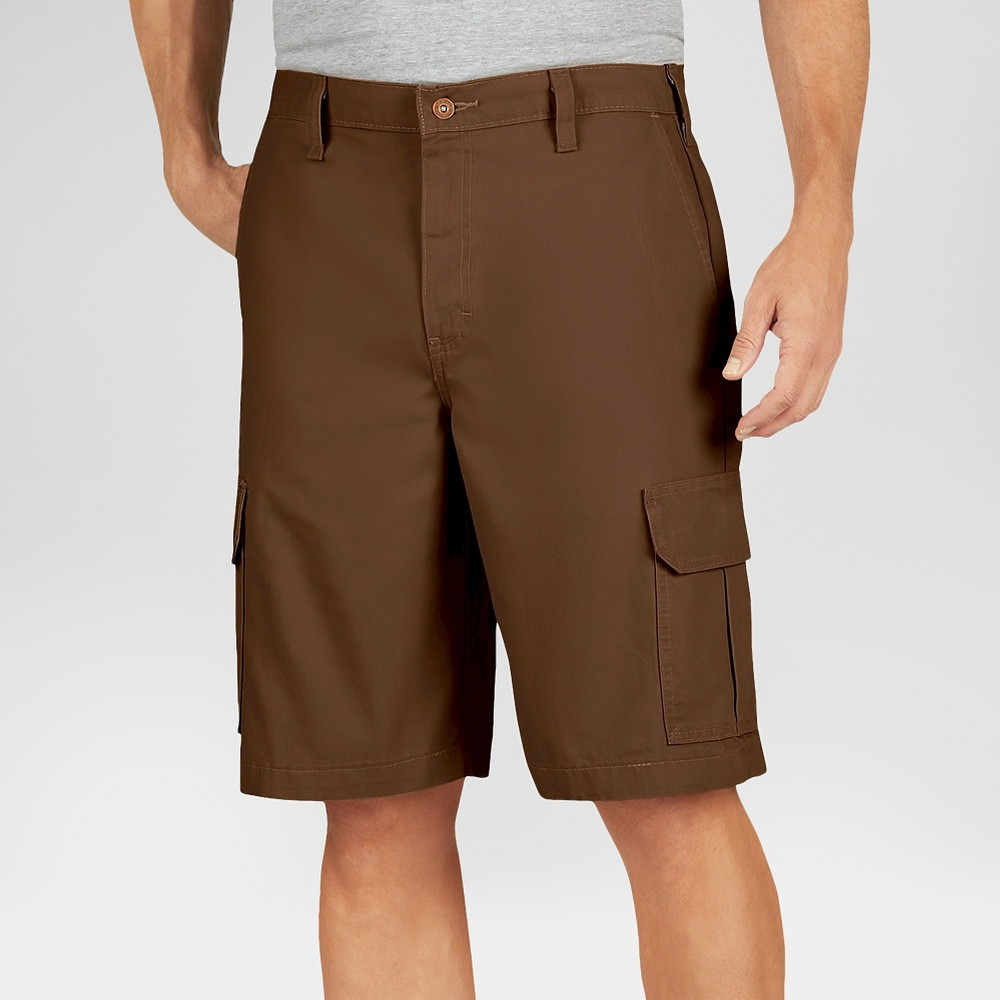 Dickies Men's Relaxed Fit Lightweight Duck 11 Cargo Shorts- Timber 30