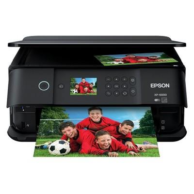 Epson XP6000 Inkjet Printer - Black (C11CG18201)