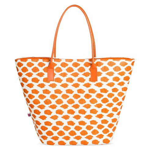 Women's Dot Print Tote Handbag - image 1 of 3
